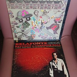 Other - 3 vintage vinyl records bundle preowned
